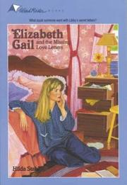 Cover of: The Missing Love Letters (Elizabeth Gail Wind Rider Series #13) | Hilda Stahl
