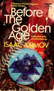Cover of: Before the golden age |