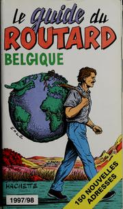 Cover of: Belgique |