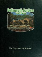 Cover of: Bellingrath Gardens and home |