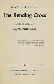 Cover of: The bending cross | Ray Ginger