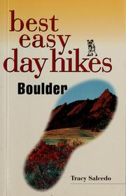 Cover of: Best easy day hikes, Boulder | Tracy Salcedo-Chourré