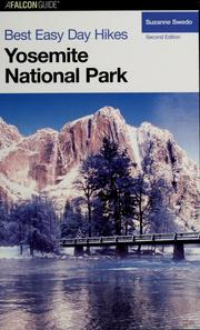 Cover of: Best easy day hikes, Yosemite National Park | Suzanne Swedo