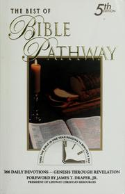 Cover of: The best of Bible pathway | John A. Hash