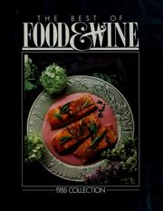 Cover of: The best of food & wine | Food & Wine Magazine