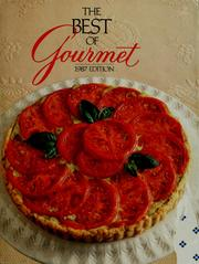 Cover of: The best of Gourmet | Gourmet Magazine Editors