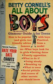 Cover of: Betty Cornell's All about boys | Betty Cornell