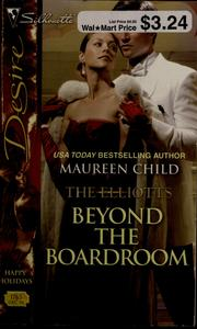 Cover of: Beyond the boardroom | Maureen Child