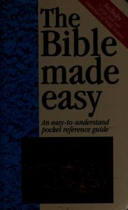Cover of: The Bible made easy | Mark Water