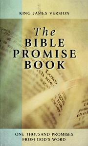 Cover of: The Bible promise book: King James Version.