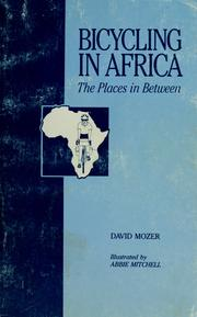 Cover of: Bicycling in Africa | David Mozer