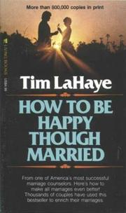 Cover of: How to Be Happy Though Married