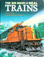 Cover of: The big book of real trains | Walter Retan