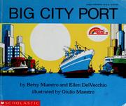 Cover of: Big city port | Betsy Maestro