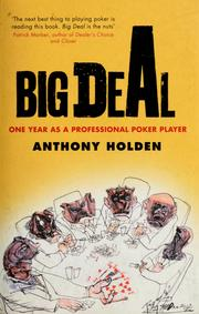 Cover of: Big deal | Anthony Holden