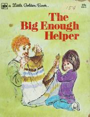 Cover of: The big enough helper | Nancy Hall