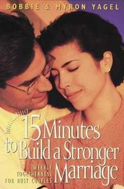 Cover of: 15 minutes to build a stronger marriage