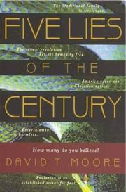 Cover of: Five lies of the century