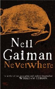 Cover of: Neverwhere
