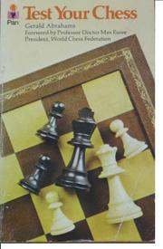 Cover of: Test your chess