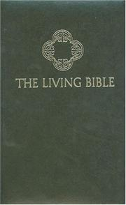 Cover of: The Living Bible: paraphrased.