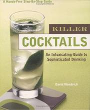 Cover of: Killer Cocktails |