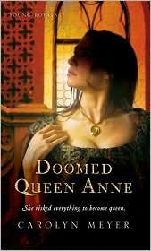 Cover of: Doomed Queen Anne: A Young Royals Book (Young Royals)