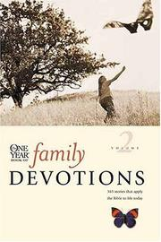 Cover of: One Year Book of Family Devotions, Vol. 2 | Children