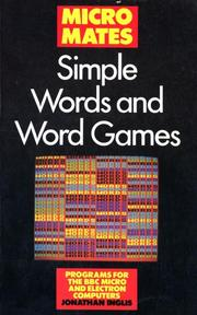 Cover of: Simple Words And Word Games | Jonathan Inglis