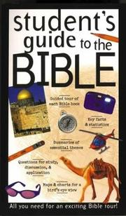 Cover of: Student's guide to the Bible
