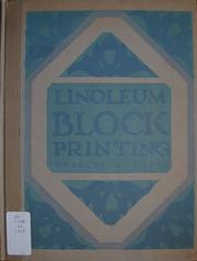 Cover of: Linoleum block printing. | Charles W. Smith