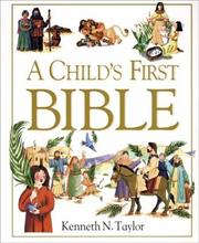Cover of: A child's first Bible