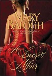 Cover of: A secret affair | Mary Balogh