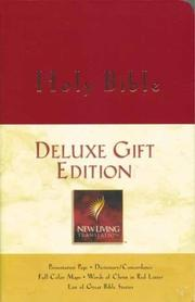 Cover of: Deluxe Gift Edition, NLT, imitation leather, burgundy |