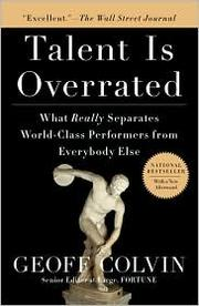 Cover of: Talent is Overrated | Geoff Colvin