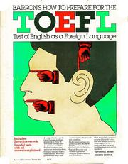Cover of: Barron's how to prepare for the TOEFL test of English as a foreign language