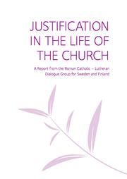 Justification in the Life of the Church by