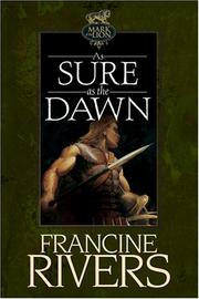 Cover of: As Sure As the Dawn (Mark of the Lion, 3)
