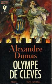 Cover of: Olympe de Clèves