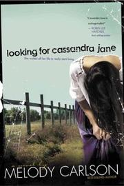 Cover of: Looking for Cassandra Jane | Melody Carlson