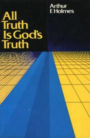 Cover of: All truth is God