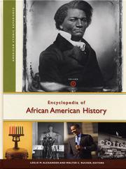 Cover of: Encyclopedia of African American history |