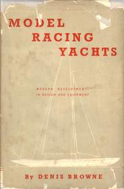 Model racing yachts by Denis Robert Howe Browne