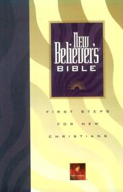 Cover of: New believer