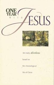 Cover of: One year with Jesus