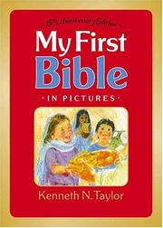 Cover of: My first Bible in pictures