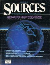 Cover of: Sources 20 |