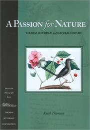 Cover of: A passion for nature