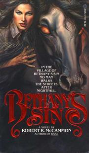 Cover of: Bethany's Sin