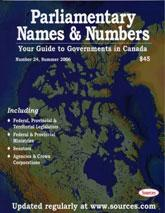 Cover of: Parliamentary Names and Numbers  24 |